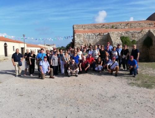 Tour in Sardegna dell'ANPS sezione di Ragusa